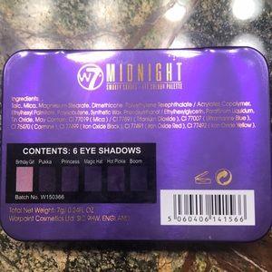w7 Makeup - New W7 Midnight Smokey Shades Eye Colour Palette